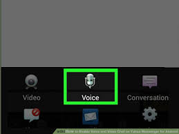 yahoo messenger app for android how to enable voice and chat on yahoo messenger for android
