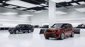 land rover jaguar jaguar land rover to launch one new svr model per year until 2020