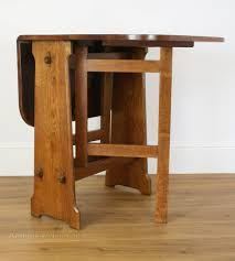 drop leaf craft table antiques atlas an arts crafts style drop leaf table
