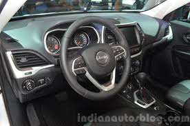 opel jeep 2015 jeep cherokee trailhawk interior at the iaa 2015 indian