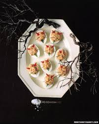 Halloween Recipes For Adults Appetizers Devilish Eggs Recipe Deviled Eggs Sauces And Eggs