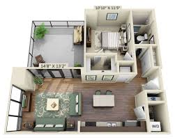 one bedroom one bath house plans floor apartment plans and pricing for capitol view on 14th