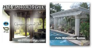 Homemade Outdoor Misting System by Patio Misting System Cooling Jpg Ideas Incredible Misters Image