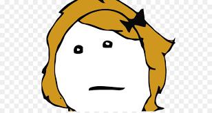 Rage Girl Meme - internet meme rage comic deviantart comics girl face png download