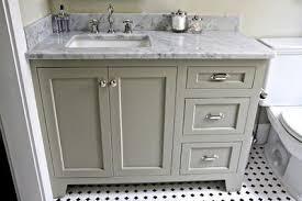 Benjamin Moore Gray Bathroom - gray green bathroom vanity with marble top bath ideas juxtapost