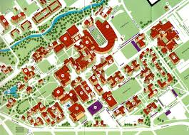 Colorado State University Campus Map by August 2005 Making Maps Diy Cartography