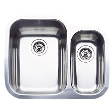 blanco supreme undermount stainless steel 26 in 1 1 2 double