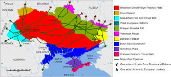 Europe And Russia Map by Geo Expro Ukraine U0027s Gas Fuelled Crisis