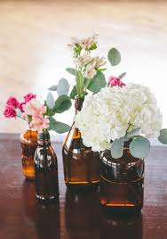 Bud Vase Arrangements How To A Modern Diy Hydrangea Centerpiece That Anyone Can Make