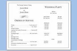 ceremony programs template wedding program template wedding program templates from