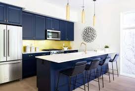 what color appliances with blue cabinets 33 blue and white kitchens design ideas designing idea