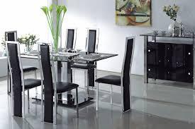 rectangle glass dining room table glass dining room table set createfullcircle com