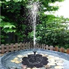 solar fountains with lights solar backyard fountains idea patio water fountain or water fountain