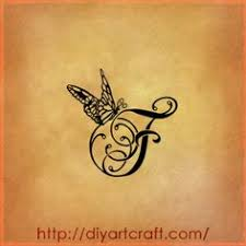 lettere tattoo 9 singole a f g j k l s t v f