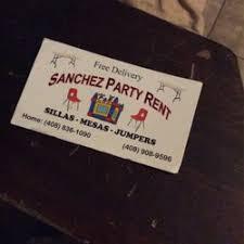 san jose party rentals party rentals party equipment rentals san jose ca