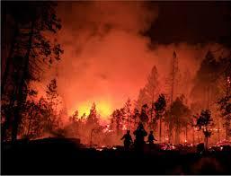 wildfires in yosemite glacier park threaten landmarks disrupt