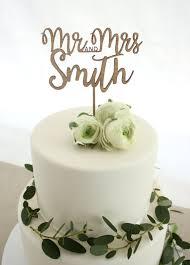 custom cake topper mrs and mrs cake topper one happy leaf