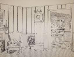 corner of a room shhs ap studio art
