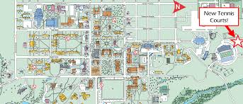 University Of Miami Map by Miami University Club Tennis Home
