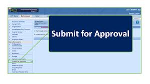 submit epd submit for approval