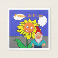 gnome happy birthday gifts on zazzle