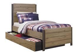 Trundle Bedroom Set Dexifield Contemporary Beige Wood Bedroom Set Wtwin Trundle Bed