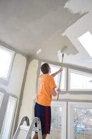 how to paint extra high vaulted ceilings young house love