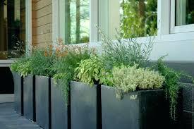 designer garden pots outdoor fountains modern outdoor planters and