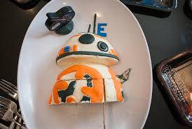 how to make an easy star wars bb 8 birthday cake for a star wars