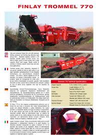 finlay 770 brochure on grindercrusherscreen com