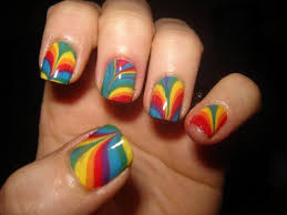 nail art rainbow nail art designs