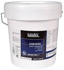 amazon com liquitex basics gesso surface prep medium 1 gallon