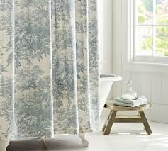 Best Bathroom Curtains Yellow Toile Curtains Gorgeous Green Inspiration With Shower Home