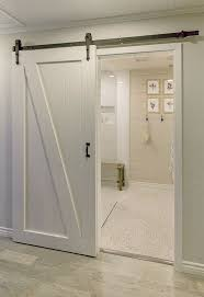 bathroom door ideas furniture reused old barn door creates a fabulous entrance for the
