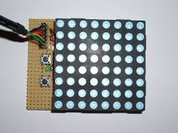 64 pixel rgb led display another arduino clone 12 steps with