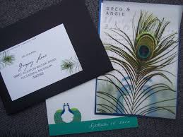 peacock wedding invitations the frivolous peacock wedding invitations weddingfully
