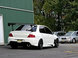 mitsubishi lancer stance stanced mitsubishi lancer evo at first class fitment mind over motor