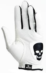 Cool Tech by Asher Golf Glove Deathgrip Cooltech Death Grip Cool Tech Skeleton