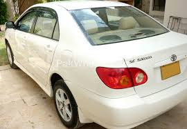 toyota corolla 2 0d saloon sr 2004 for sale in karachi pakwheels