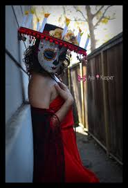 La Muerte Costume La Muerte The Book Of Life Mask Halloween Costume Sombrero