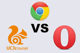 Uc Browser Uc Browser Vs Opera Mini Vs Chrome The Best Android
