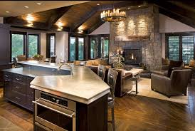 Open Kitchen Family Room Floor Plans If You Like To Entertain Then One Of The Best Sorts Of Family