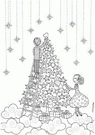christmas coloring pages adults print free coloring
