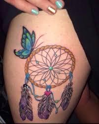 butterfly tattoos thighs catchers catcher butterflies