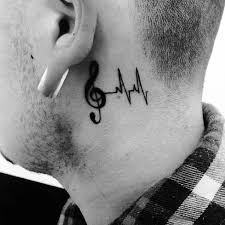 80 treble clef tattoo designs for men musical ink ideas