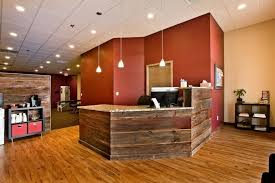 Rustic Reception Desk Minneapolis Reception Desk Ideas Entry Rustic With Commercial