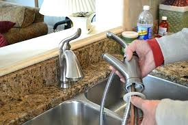 How To Replace A Kitchen Sink Faucet Fantastic Installing Kitchen Faucet Changing Kitchen Sink Pipes