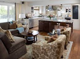 Open Floor Plan Kitchen And Living Room Best 25 Small Kitchen Family Room Combo Ideas On Pinterest