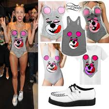 Halloween Bear Costume Miley Cyrus Vma Halloween Costumes Steal Style