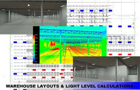 warehouse lighting layout calculator design services ledco america lighting solutions redefined